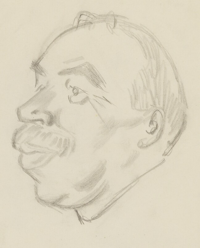 John Maynard Keynes, Baron Keynes, by Sir David Low, 1933 or before - NPG 4529(190) - © Solo Syndication Ltd