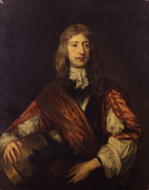 Thomas Killigrew, after Sir Anthony van Dyck, 17th century, based on a work of circa 1635 - NPG 892 - © National Portrait Gallery, London