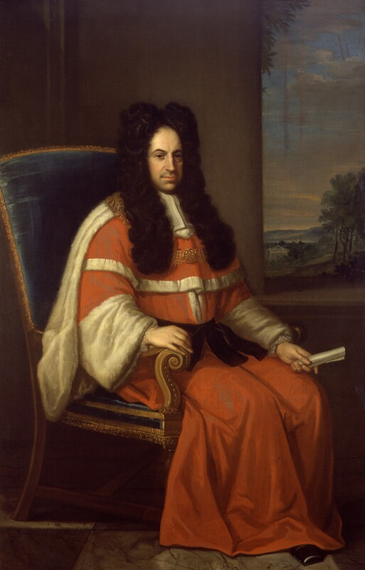 Peter King, 1st Baron King of Ockham, by Daniel De Coning, 1720 - NPG 470 - © National Portrait Gallery, London