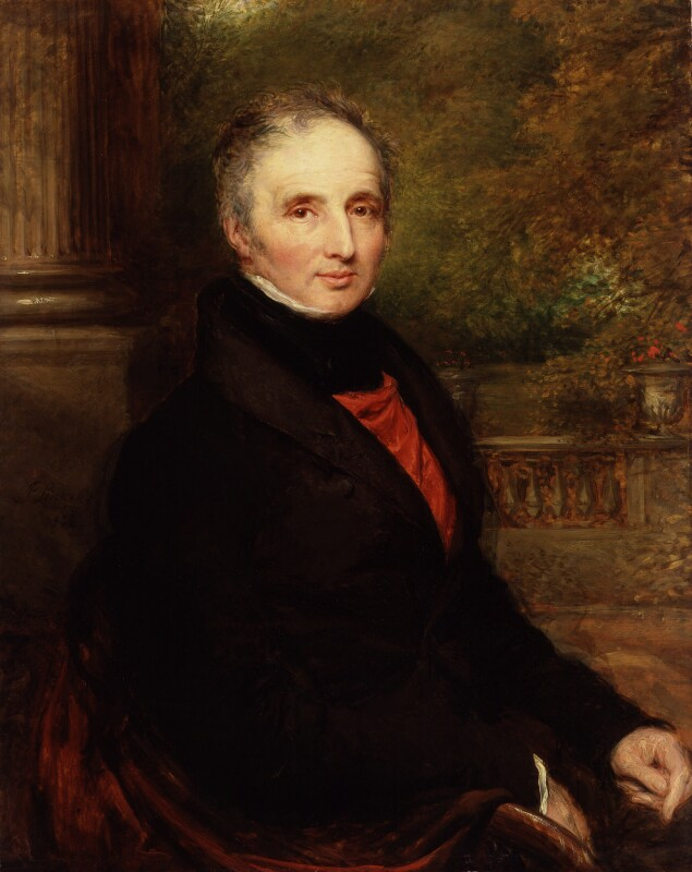 Peter King, 7th Baron King of Ockham, by John Linnell, 1832 - NPG 4020 - © National Portrait Gallery, London