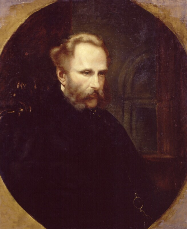Alexander William Kinglake, by Harriet M. Haviland, 1863 - NPG 1903 - © National Portrait Gallery, London