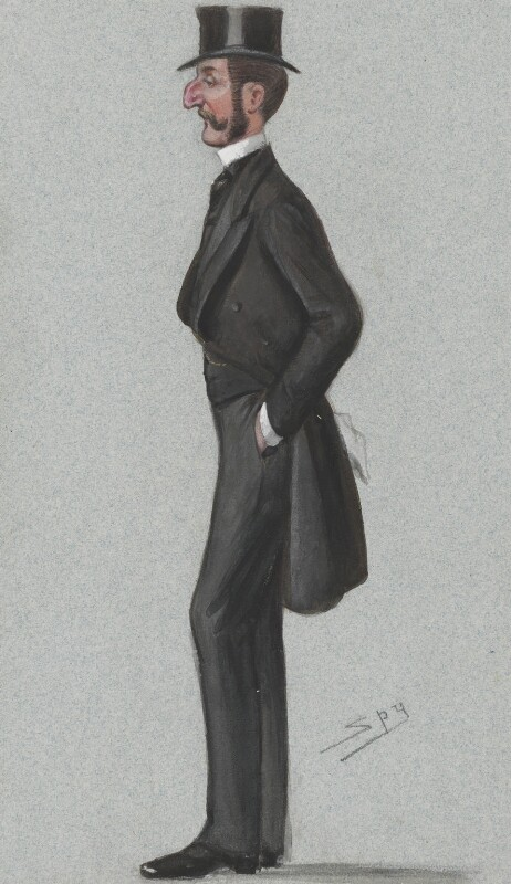 Sir Robert Nigel Fitzhardinge Kingscote, by Sir Leslie Ward, published in Vanity Fair 14 February 1880 - NPG 4723 - © National Portrait Gallery, London