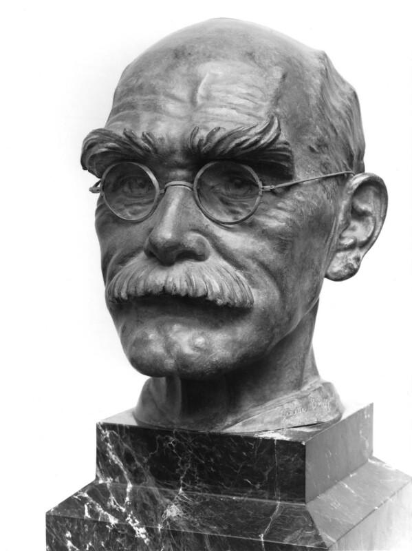 Rudyard Kipling, by Ginette Bingguely-Lejeune, 1936-1937 - NPG 2955 - Photograph © National Portrait Gallery, London
