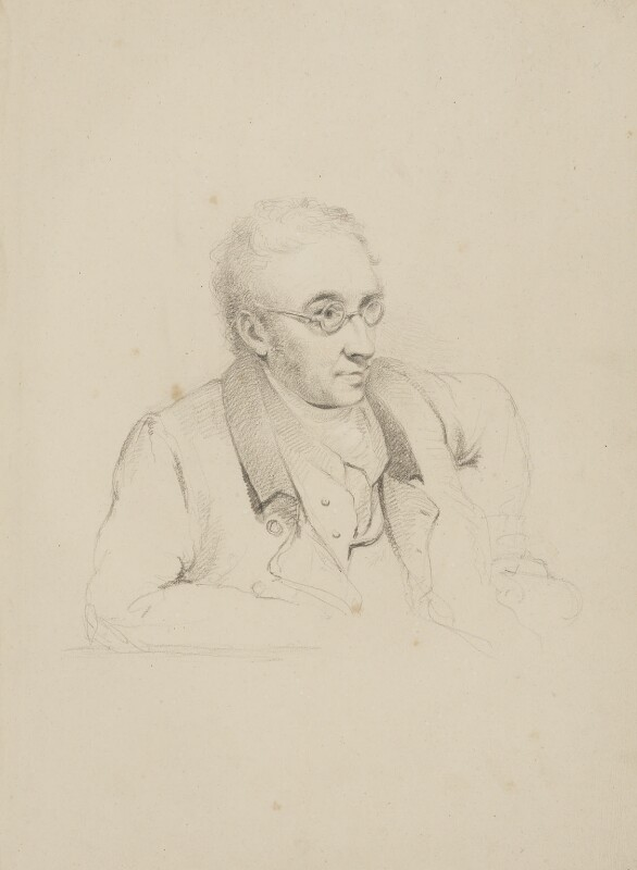 William Kitchiner, by William Brockedon, circa 1826 - NPG 2515(14) - © National Portrait Gallery, London