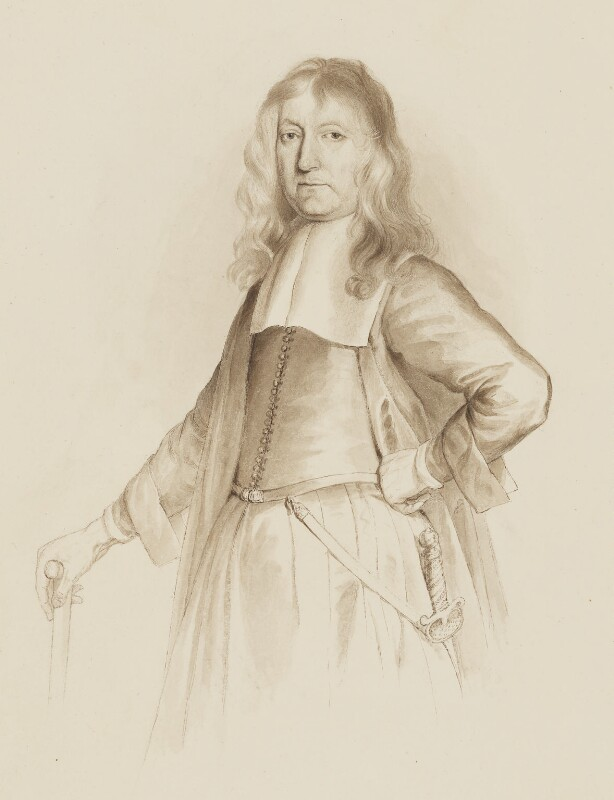 Sir Thomas Knatchbull, 3rd Bt, by Samuel van Hoogstraten, based on a work of 1667 -NPG 3090(7) - © National Portrait Gallery, London