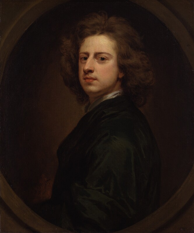 Sir Godfrey Kneller, Bt, by Sir Godfrey Kneller, Bt, 1685 - NPG 3794 - © National Portrait Gallery, London