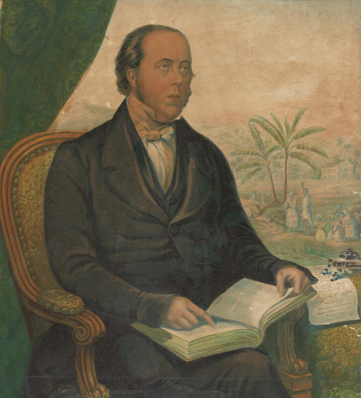William Knibb, by George Baxter, 1847 - NPG 4957 - © National Portrait Gallery, London
