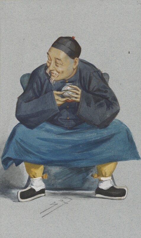 Kuo Sung-tao, by Sir Leslie Ward, published in Vanity Fair 16 June 1877 - NPG 4707(14) - © National Portrait Gallery, London
