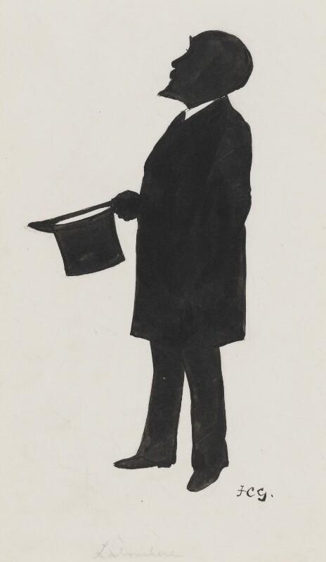 Henry du Pré Labouchère, by Sir Francis Carruthers Gould ('F.C.G.'), circa 1900s-1912 - NPG 2867 - © National Portrait Gallery, London