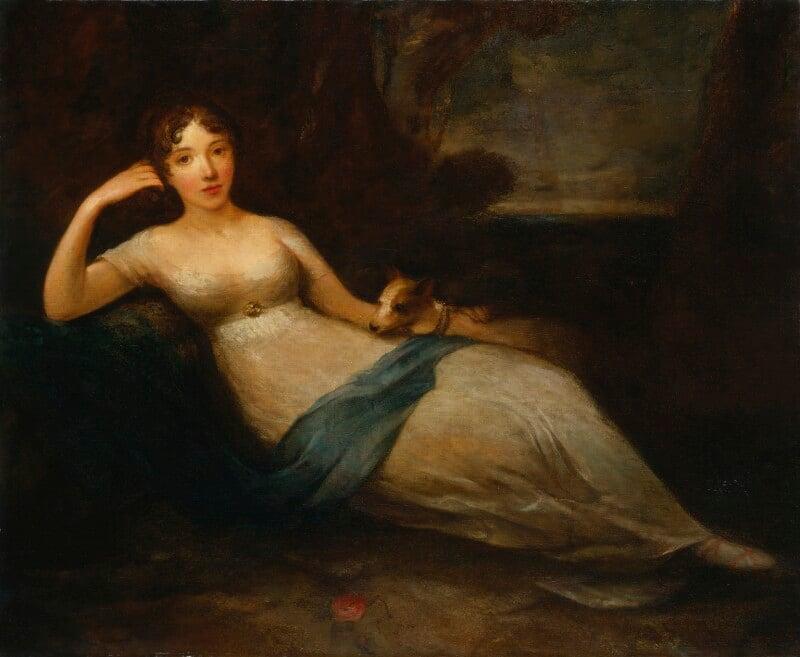 Lady Caroline Lamb, by Eliza H. Trotter, exhibited 1811 - NPG 3312 - © National Portrait Gallery, London