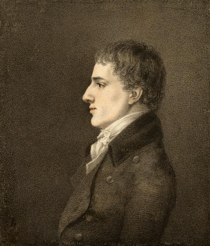 Charles Lamb, by Robert Hancock, 1798 - NPG 449 - © National Portrait Gallery, London