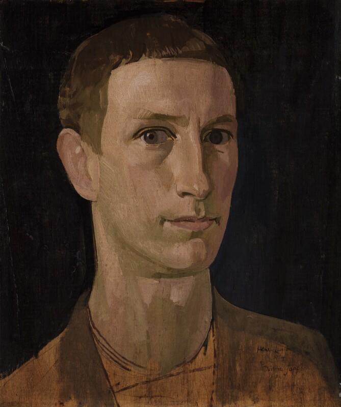 Henry Lamb, by Henry Lamb, 1914 - NPG 4432 - © National Portrait Gallery, London