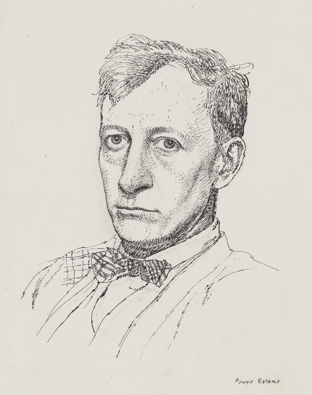 Henry Lamb, by Powys Evans, published 1928 - NPG 4401 - © estate of Powys Evans