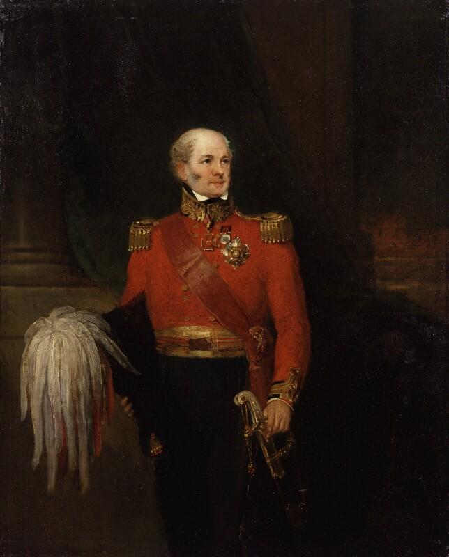 Sir John Lambert, by William Salter, 1838-1840 - NPG 3731 - © National Portrait Gallery, London
