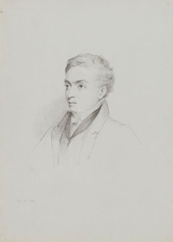 Richard Lemon Lander, by William Brockedon, 1831 -NPG 2515(47) - © National Portrait Gallery, London