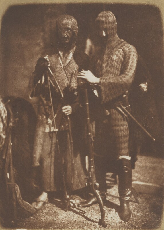 Afghan (in fact Moorish) Costume (John Lane; Mr Redding), by David Octavius Hill, and  Robert Adamson, 1843-1848 - NPG P6(159) - © National Portrait Gallery, London