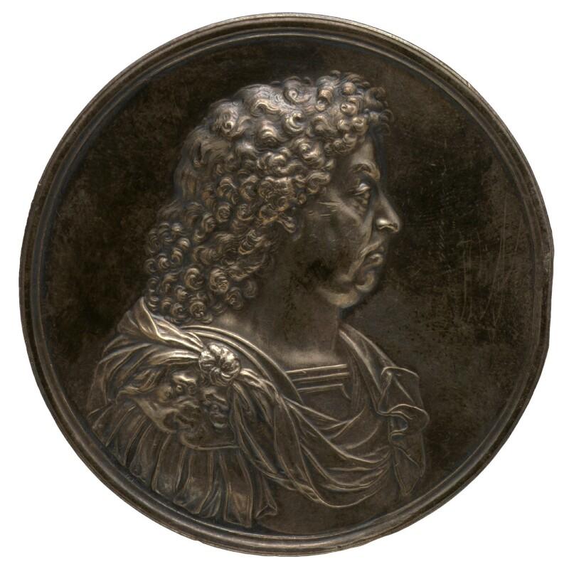 John Maitland, Duke of Lauderdale, by John Roettier, 1672 - NPG 4362 - © National Portrait Gallery, London