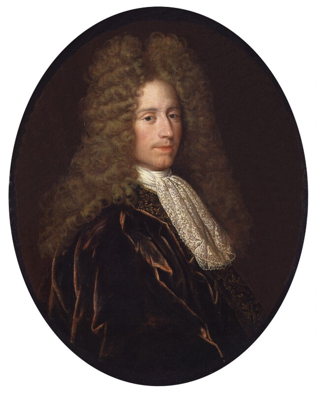 John Law, attributed to Alexis Simon Belle, circa 1715-1720 - NPG 191 - © National Portrait Gallery, London