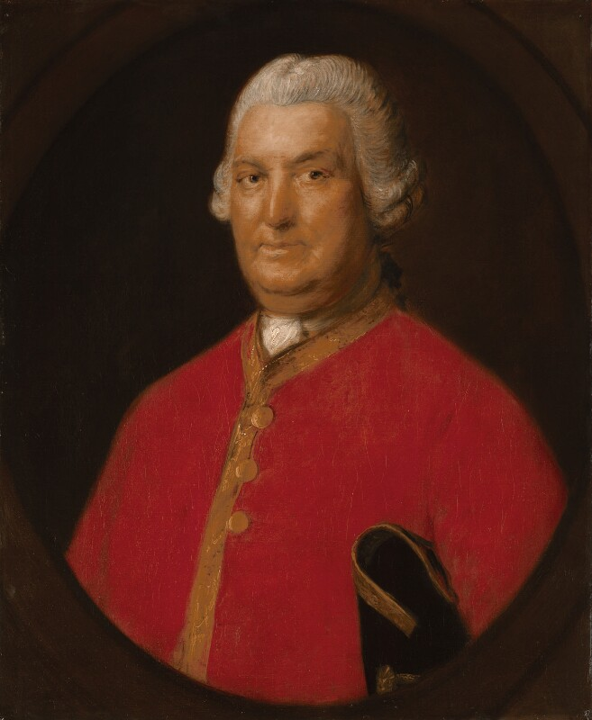 Stringer Lawrence, by Thomas Gainsborough, circa 1774-1775 - NPG 777 - © National Portrait Gallery, London