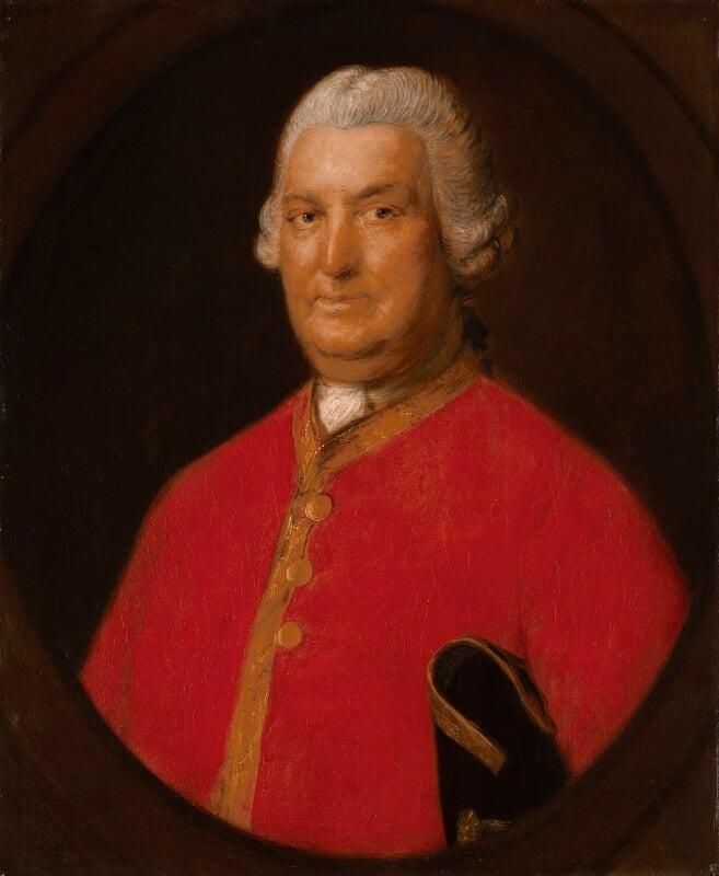 Stringer Lawrence, by Thomas Gainsborough, circa 1774-1775 - NPG 777 - © National Portrait Gallery, London