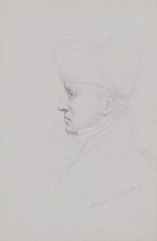 Sir Thomas Lawrence, by William Brockedon, 1820-1830 - NPG 2515(21) - © National Portrait Gallery, London