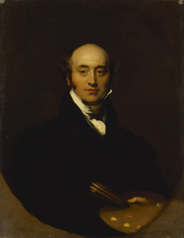 Sir Thomas Lawrence, by Richard Evans, after  Sir Thomas Lawrence, late 1820s, based on a work of circa 1825 - NPG 260 - © National Portrait Gallery, London