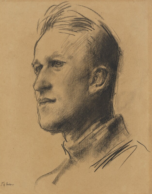 T.E. Lawrence, by Augustus Edwin John, circa 1929 - NPG 2910 - © National Portrait Gallery, London