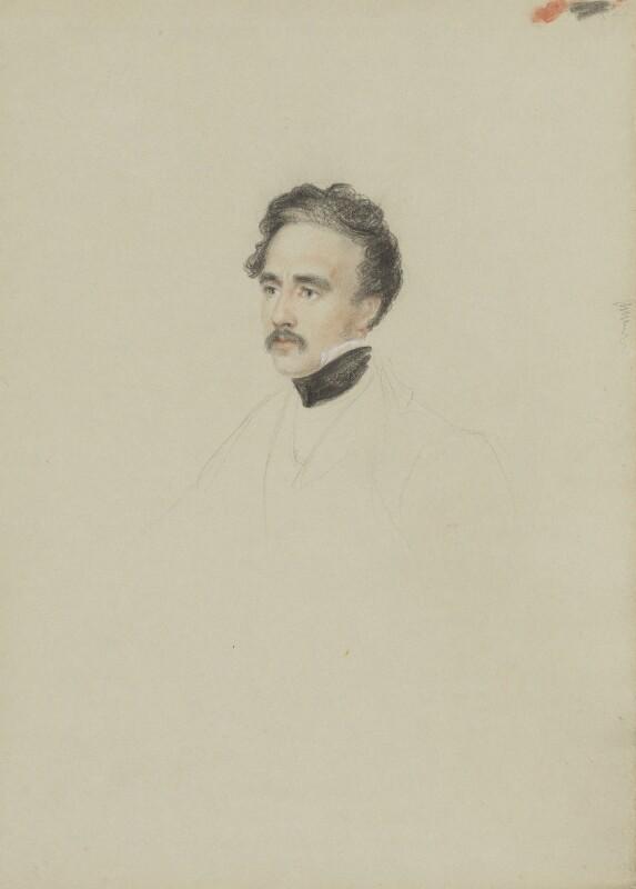 Sir Austen Henry Layard, by William Brockedon, 1823-1849 - NPG 2515(103) - © National Portrait Gallery, London