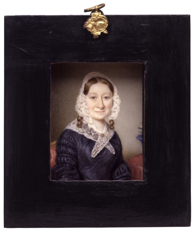 Ann Lear, by Unknown artist, circa 1830s - NPG 1759a - © National Portrait Gallery, London