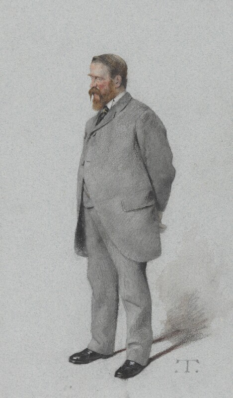 Sir Edmund Lechmere, 3rd Bt, by Théobald Chartran ('T'), published in Vanity Fair 23 June 1883 - NPG 4628 - © National Portrait Gallery, London