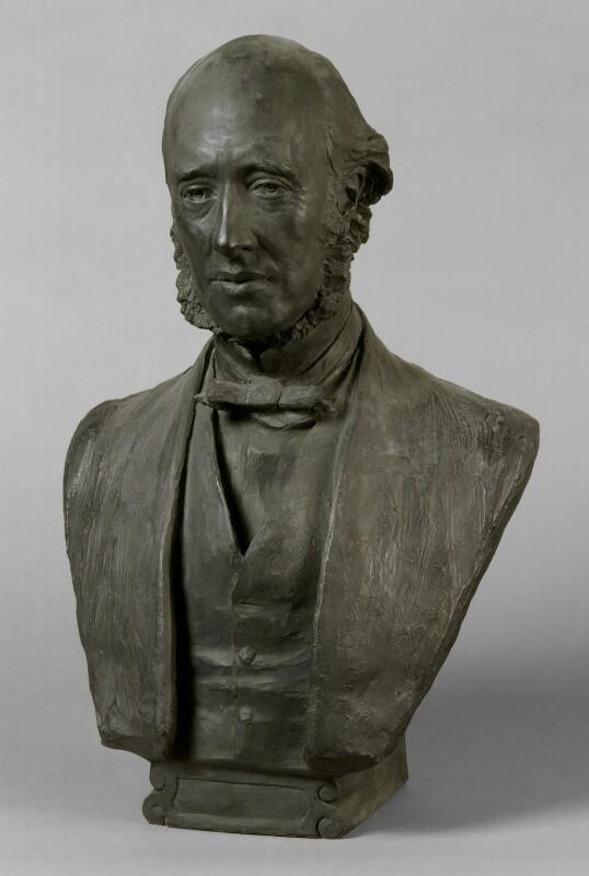 (William) Edward Hartpole Lecky, by Sir Joseph Edgar Boehm, 1st Bt, circa 1890 - NPG 1360 - © National Portrait Gallery, London