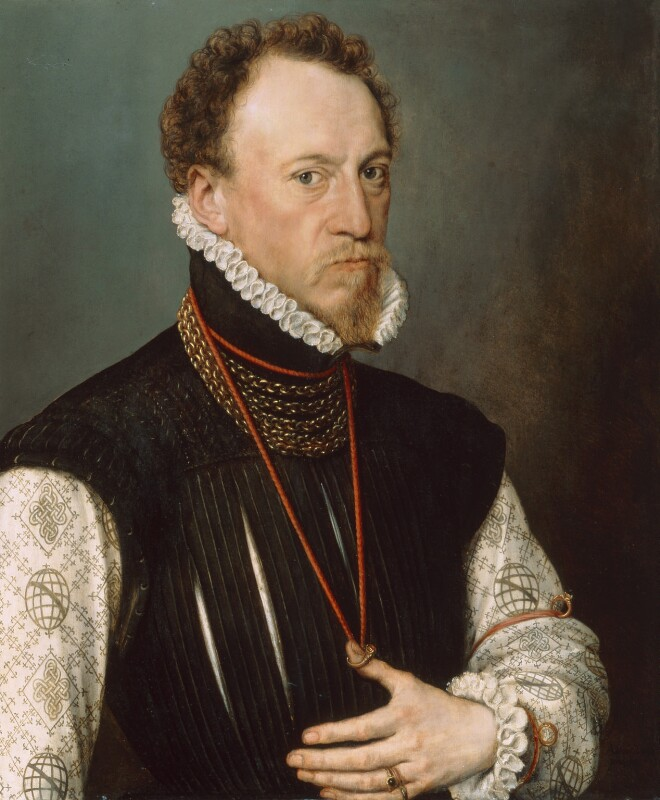 Sir Henry Lee, by Anthonis Mor (Antonio Moro), 1568 - NPG 2095 - © National Portrait Gallery, London
