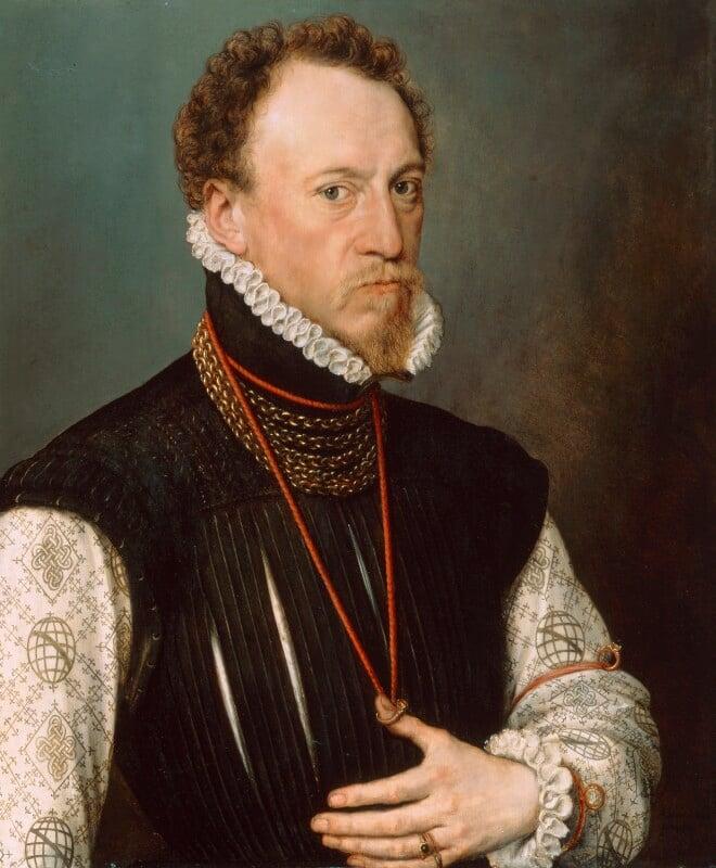 Sir Henry Lee, by Anthonis Mor (Antonio Moro), 1568 - NPG 2095 - © National Portrait Gallery, London