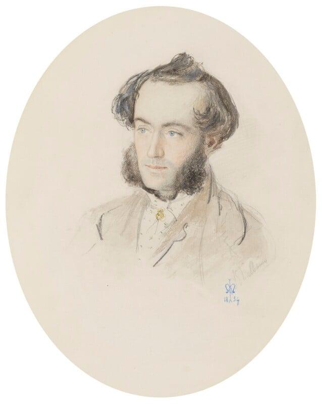 John Leech, by Sir John Everett Millais, 1st Bt, 1854 - NPG 899 - © National Portrait Gallery, London