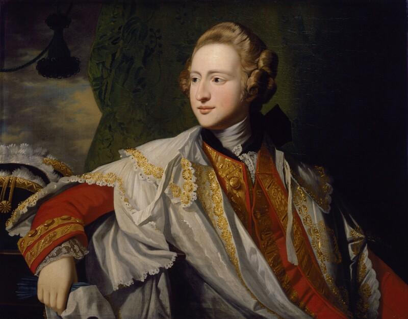 Francis Osborne, 5th Duke of Leeds, attributed to Benjamin West, circa 1769 - NPG 801 - © National Portrait Gallery, London