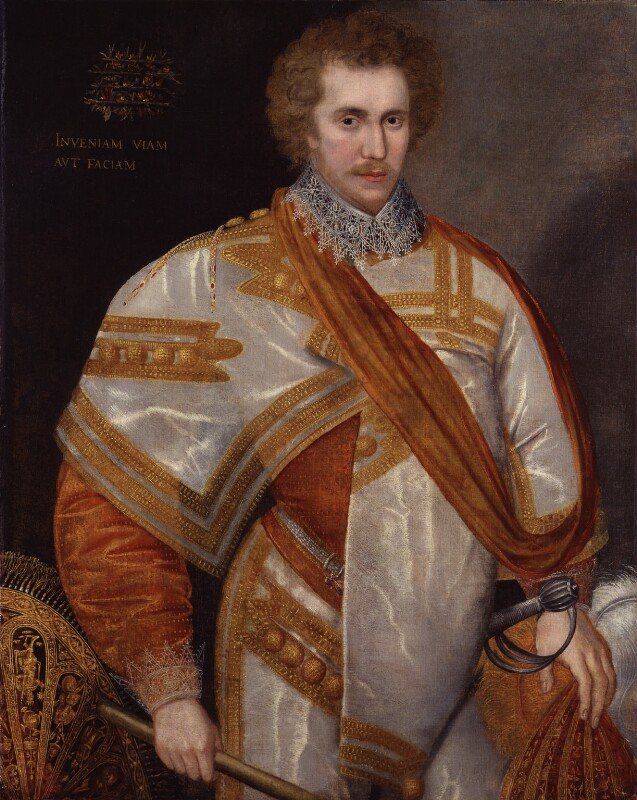 Robert Sidney, 1st Earl of Leicester, by Unknown artist, circa 1588 - NPG 1862 - © National Portrait Gallery, London