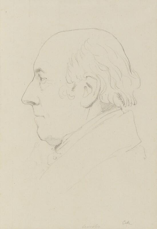 Thomas William Coke, 1st Earl of Leicester of Holkham, by Sir Francis Leggatt Chantrey, 1828-1829 - NPG 316a(77) - © National Portrait Gallery, London