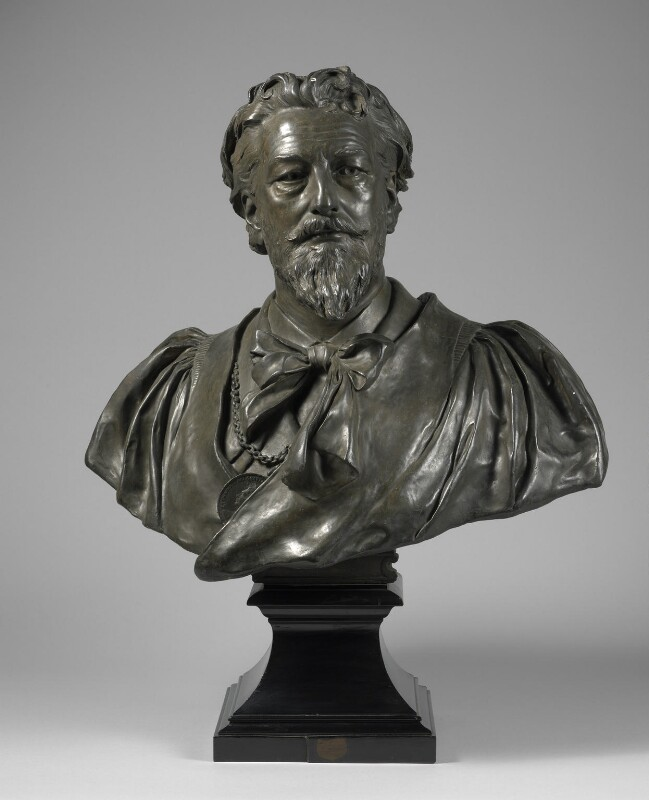 Frederic Leighton, Baron Leighton, by Sir Thomas Brock, 1892 - NPG 1957 - © National Portrait Gallery, London