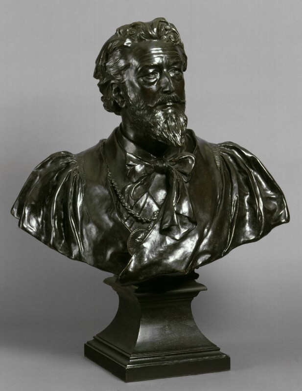 Frederic Leighton, Baron Leighton, by Sir Thomas Brock, 1923, based on a work of 1892 -NPG 1957a - © National Portrait Gallery, London