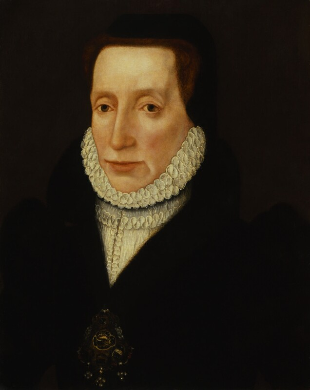 An unknown woman, possibly Margaret Douglas, Countess of Lennox, by Unknown artist, circa 1560-1565 - NPG 401 - © National Portrait Gallery, London
