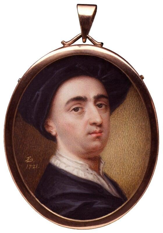 Bernard Lens (III), by Bernard Lens (III), 1721 - NPG 1624 - © National Portrait Gallery, London
