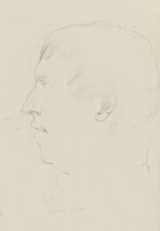 Sir John Leslie, by Sir Francis Leggatt Chantrey, 1815 - NPG 316a(64a) - © National Portrait Gallery, London
