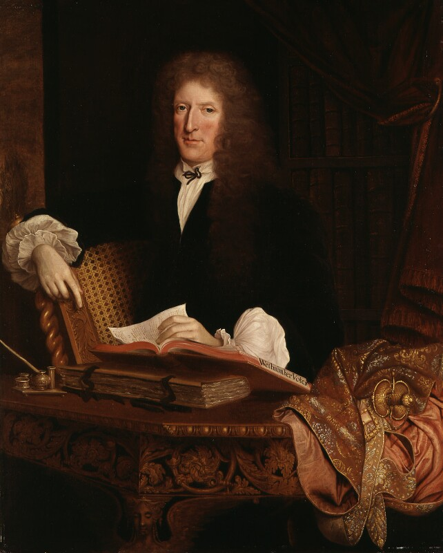 Sir Roger L'Estrange, attributed to John Michael Wright, circa 1680 - NPG 3771 - © National Portrait Gallery, London