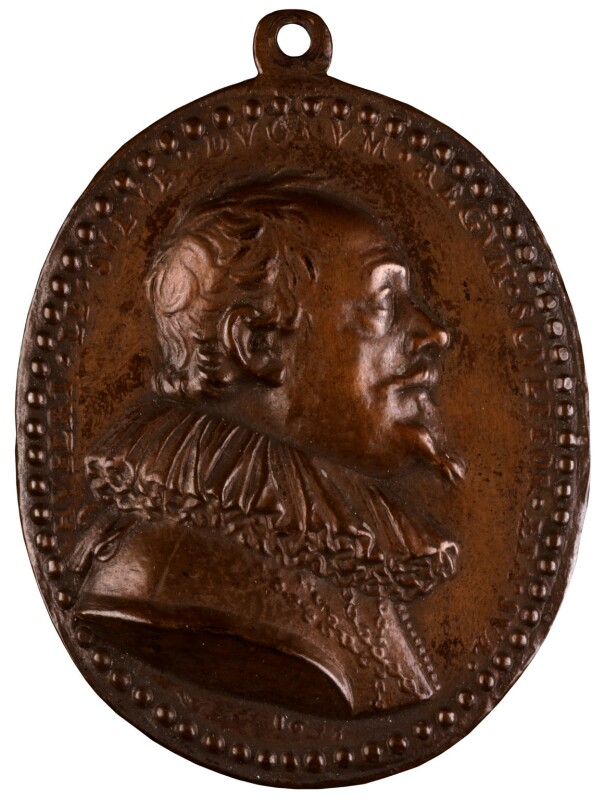 Hubert Le Sueur, after a medal attributed to Claude Warin, based on a work of 1635 - NPG 939 - © National Portrait Gallery, London