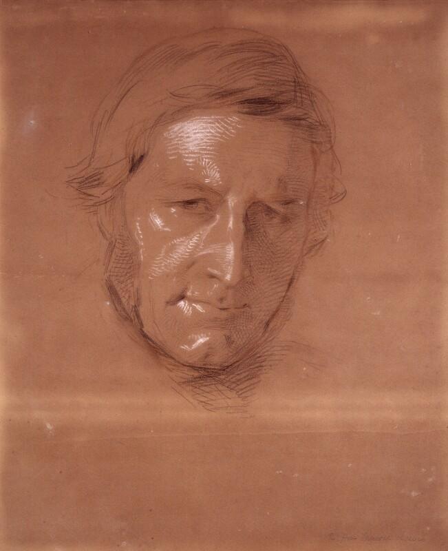 Sir George Cornewall Lewis, 2nd Bt, by George Richmond, 1825-1850 -NPG 1063 - © National Portrait Gallery, London