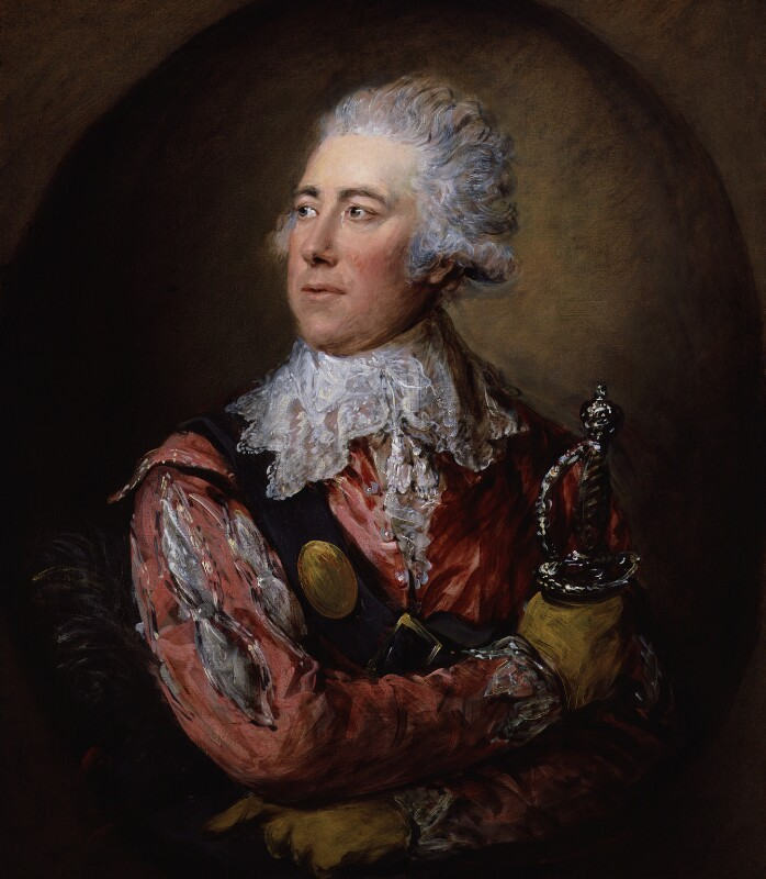 William Thomas Lewis as Mercutio in 'Romeo and Juliet', by Gainsborough Dupont, 1794 - NPG 5148 - © National Portrait Gallery, London