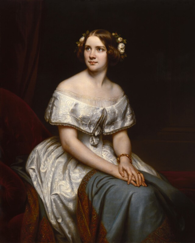 Jenny Lind, replica by Eduard Magnus, circa 1861, based on a work of 1846 - NPG 3801 - © National Portrait Gallery, London