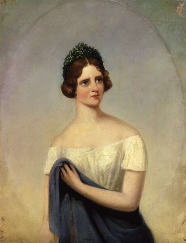 Jenny Lind, by Alfred, Count D'Orsay, 1847 - NPG 2204 - © National Portrait Gallery, London