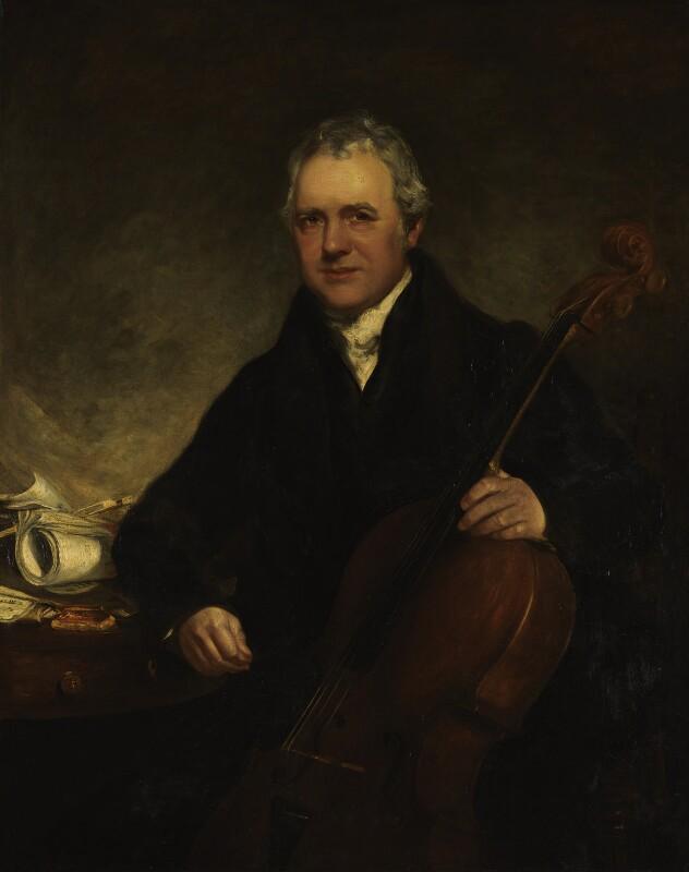 Robert Lindley, by William Davison, exhibited 1826 - NPG 1952 - © National Portrait Gallery, London