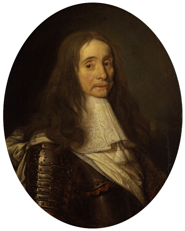 Unknown man, formerly known as Montague Bertie, 2nd Earl of Lindsey, by Unknown artist, circa 1660 - NPG 1124 - © National Portrait Gallery, London